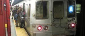El metro en Nueva York