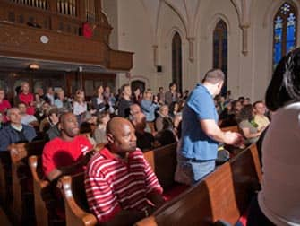 Gospel Tour en Harlem Nueva York - en la iglesia