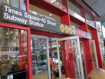 Metro en NYC - Times Square-42 Street