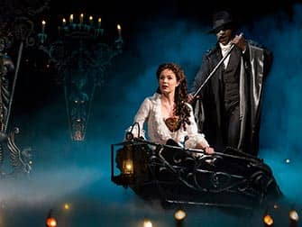 Tickets para The Phantom of the Opera en Broadway - barco
