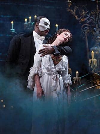 Tickets para The Phantom of the Opera en Broadway - el fantasma y Christine