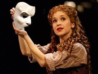 Phantom of the Opera en NYC - mascara del fantasma