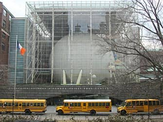 American Museum of Natural History en Nueva York - Rose Center for Earth and Space in NYC