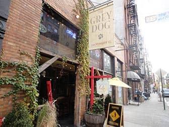 Bagels en NYC - Grey Dog
