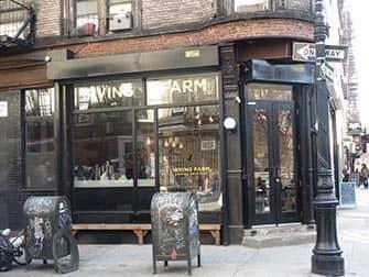 Bagels en NYC - Irving Farm