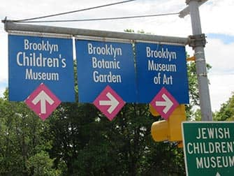 Brooklyn en NYC - letreros
