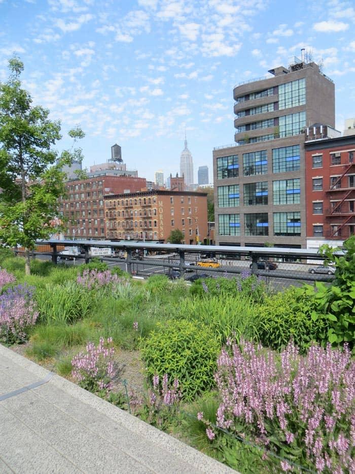 Parques en NYC - High Line Park