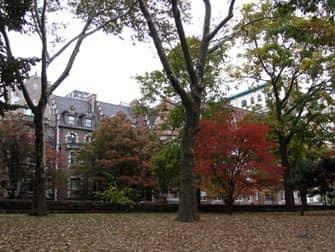 Parques en NYC - Riverside Drive desde Riverside Park