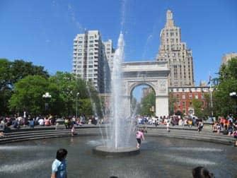 Parques en NYC - Washington Square Park