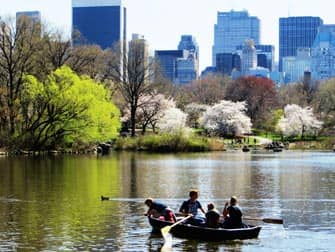 Parques en NYC - barcas en Central Park