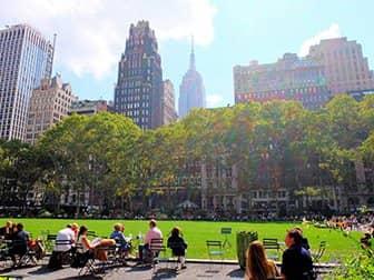 Parques en Nueva York - Bryant Park