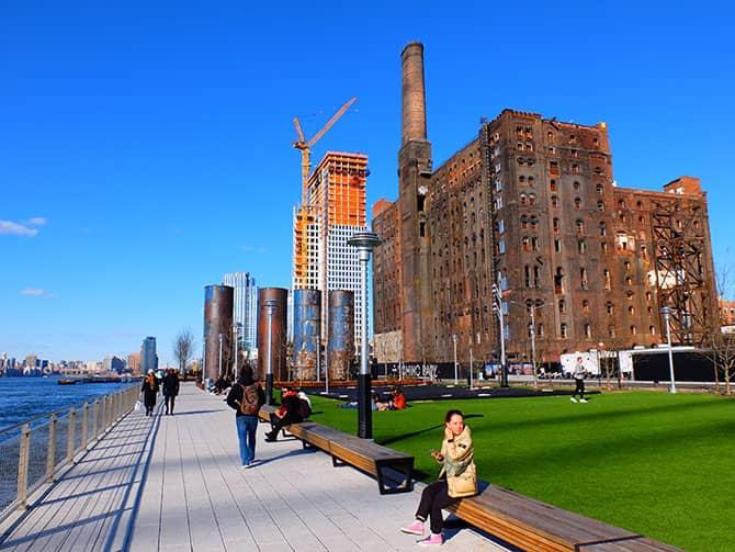 Parques en Nueva York - Domino Park
