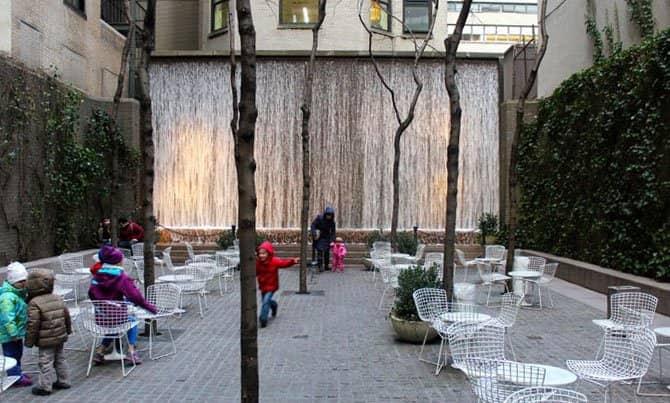 Parques en Nueva York - Paley Park
