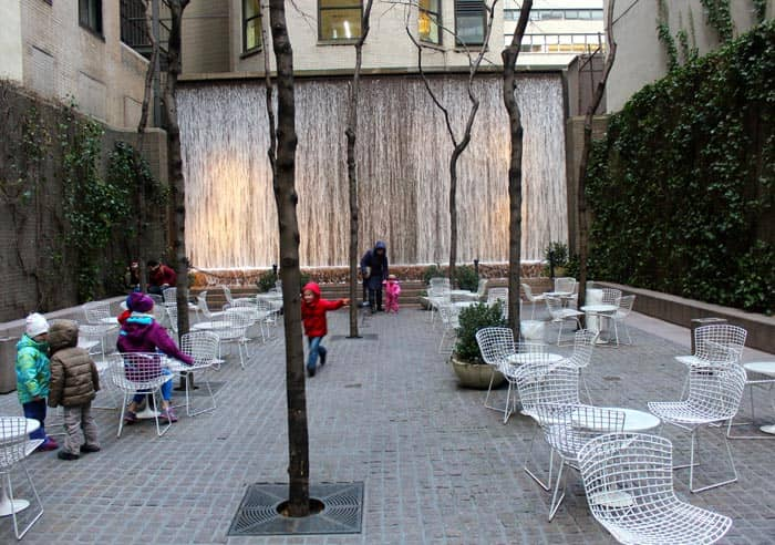 Parques en Nueva York - Paley Park