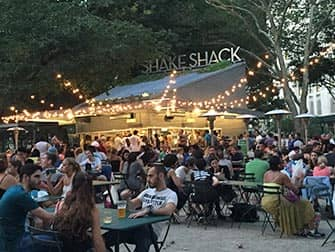 Parques en Nueva York - Shake Shack en Madison Square Park