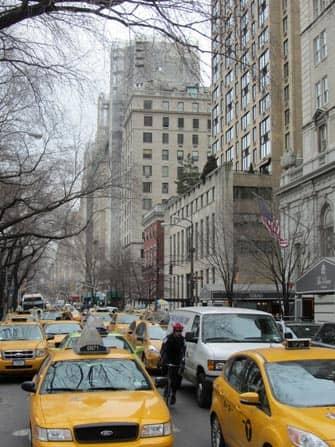 Taxi en Nueva York - Fifth Avenue