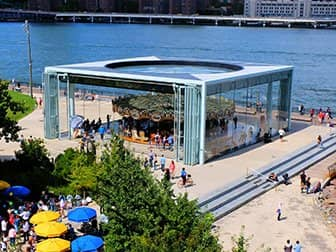 Brooklyn Bridge Park en Nueva York - Jane's Carousel