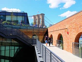Brooklyn Bridge Park en Nueva York - Tejado Empire Stores