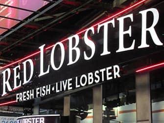 Comer con ninos en Nueva York - Red Lobster