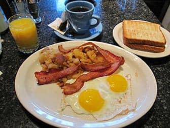 Desayunar en Nueva York - Theatre Row Diner