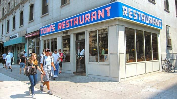 Desayunar en Nueva York - Toms Restaurant