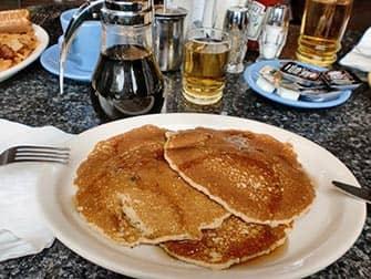 Desayunar en Nueva York - pancakes