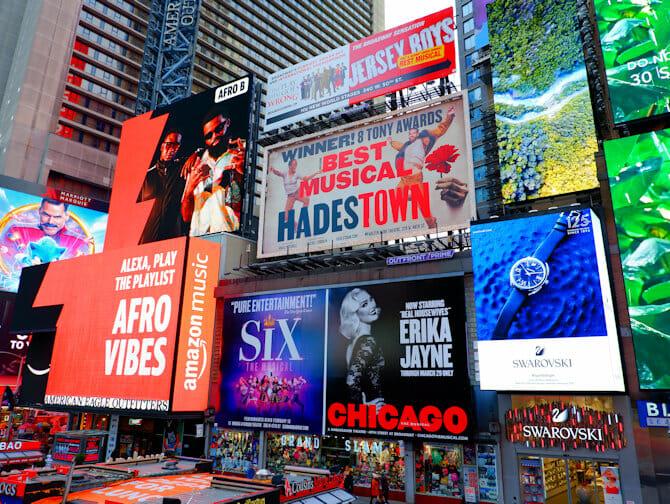 Tour en espanol en NYC - Times Square