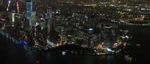 Vuelo en helicoptero por la noche y crucero en Nueva York