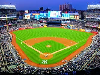 Tickets para los New York Yankees - Campo de juego