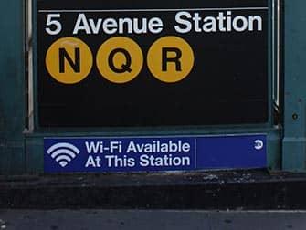 Wi-Fi en Nueva York - Wi-Fi en 5th Avenue Station