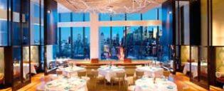 Los mejores restaurantes con vistas de Nueva York