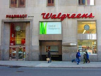 Maquillaje en Nueva York - Walgreens