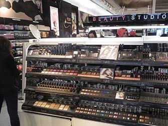 Maquillaje en Nueva York - interior Sephora