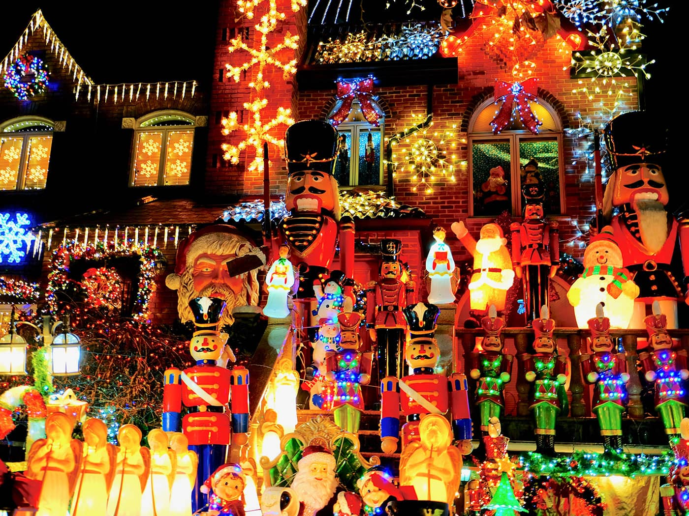 Dyker Heights Christmas Lights - Figuras