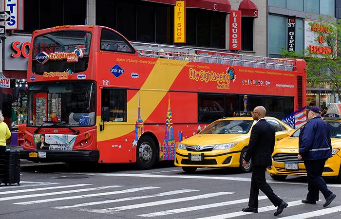 Bus hop on hop off Bus hop on hop off CitySightseeing en Nueva York - Bus