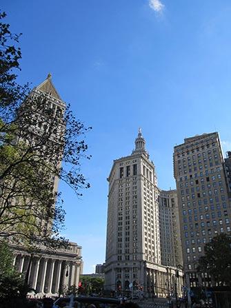 Bus hop on hop off CitySights en Nueva York - Downtown