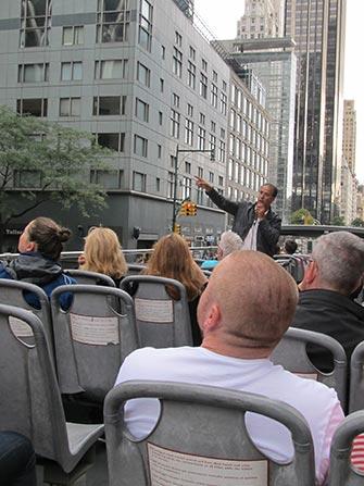 Bus hop on hop off CitySights en Nueva York - Guia