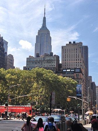Bus hop on hop off Gray Line en Nueva York - Empire State