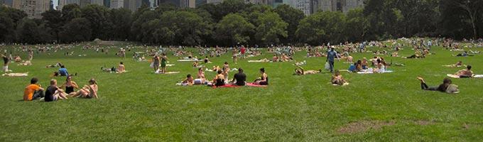 Los mejores parques de Nueva York