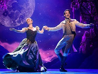 Tickets para Frozen en Broadway - Anna y Hans