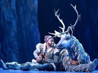 Tickets para Frozen en Broadway - Kristoff y Sven