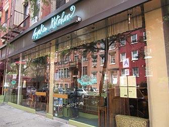 Restaurante vegetariano en NYC - Angelica Kitchen