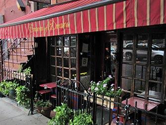 Restaurante vegetariano en NYC - Caravan of Dreams