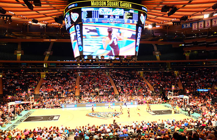 Tickets baloncesto para el New York Liberty - Ambiente