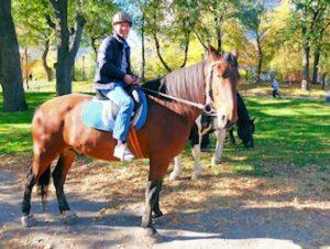 Montar a caballo en Central Park