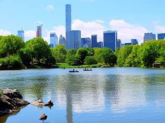 Alquiler de bote de remos en Central Park - El lago