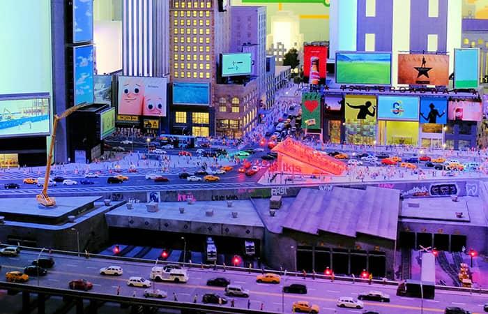 Mundo en miniatura de Gulliver's Gate - Times Square