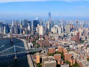 Vuelo en helicóptero sin puertas por Nueva York