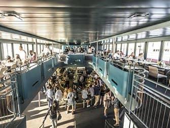 Crucero con cena Hudson River en Nueva York - Yate