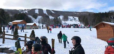 Excursiones de esquí cerca de Nueva York